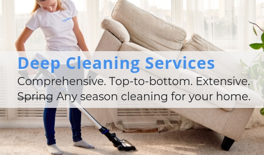 Learn more about Deep cleans